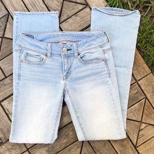 American Eagle Kick Boot Jeans Size 4